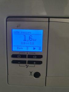 Digital Boiler Pressure Gauge 1.6 bar